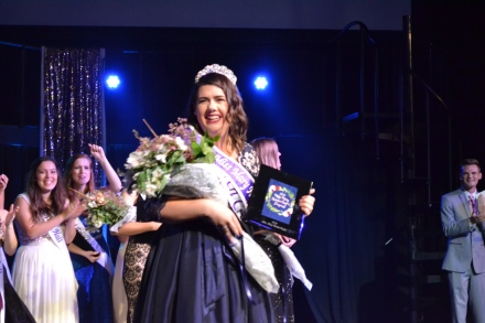 Tori Pharis crowned Miss Mary-Hardin Baylor 2018