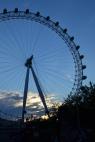 The London Eye at Dusk