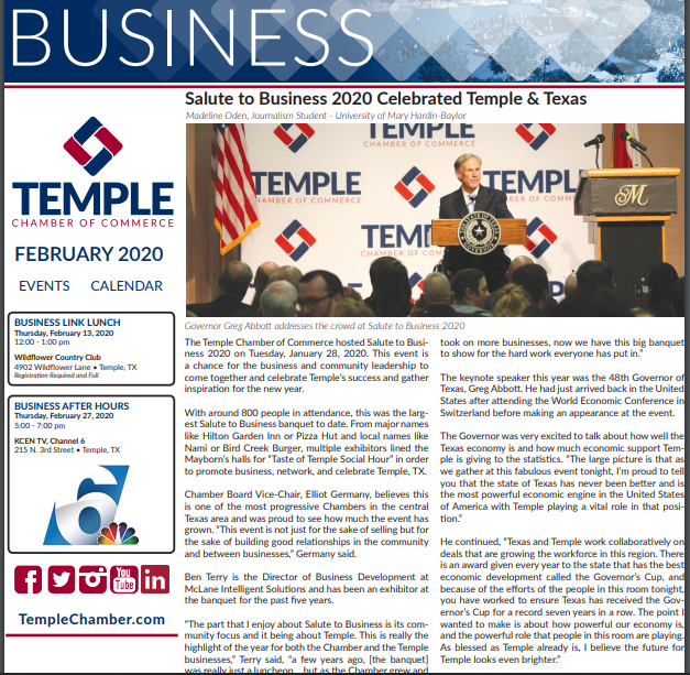 Focus on Business Feb. 2020 Issue